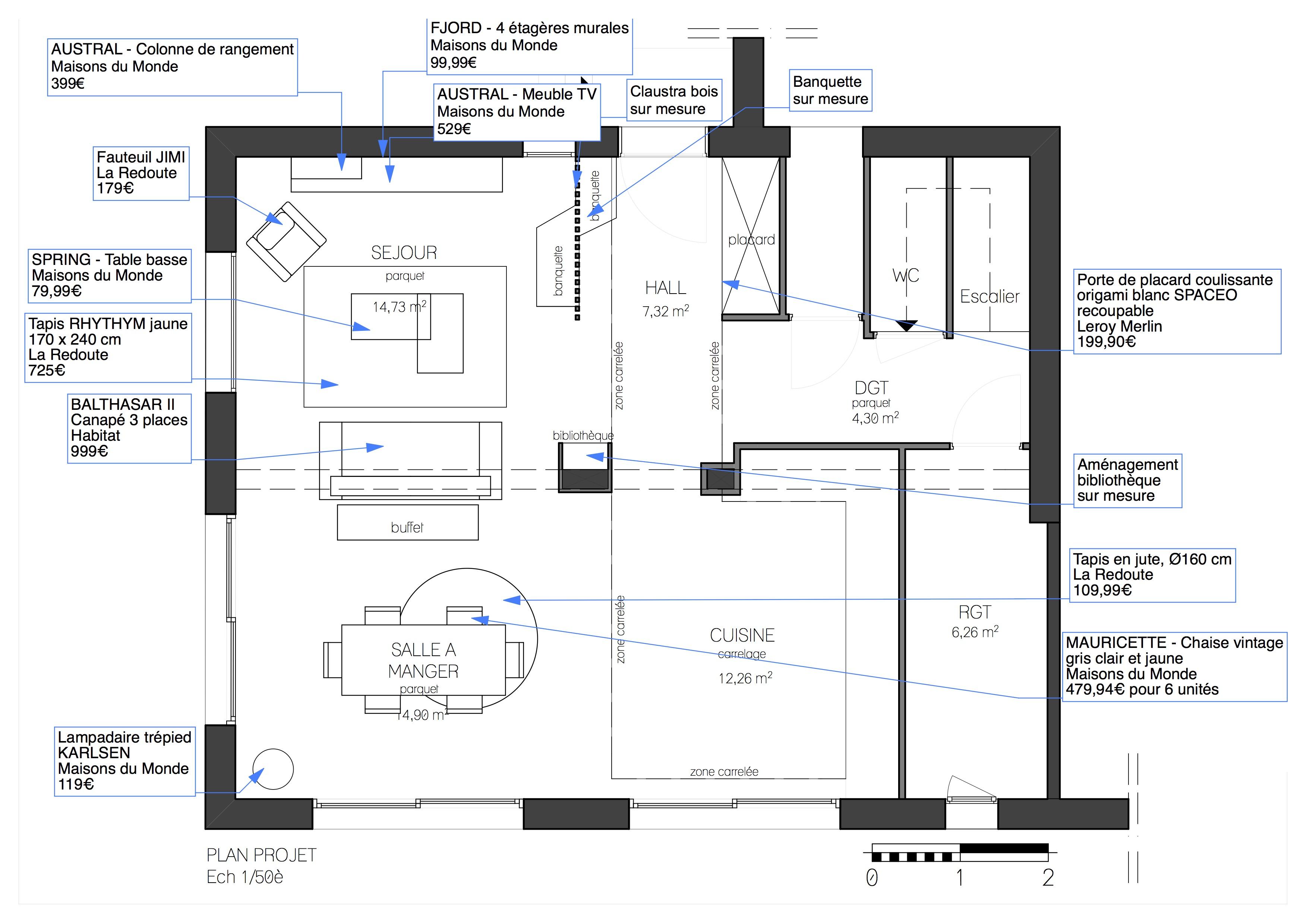 plan de maison open space